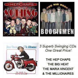 Swing Jive Rhythm & Blues : Hep Chaps / Maria Vincent / Big Heat 3 CDs