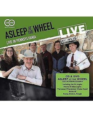 Asleep at the Wheel Live in Pennsylvania CD and DVD