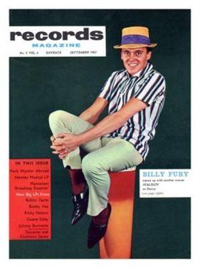 1961 Magazine Cover Poster
