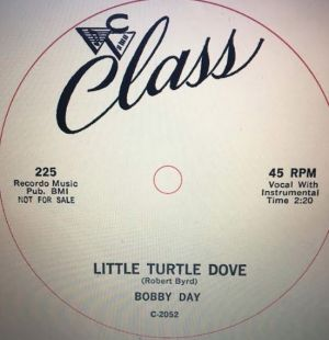 Bobby Day Little Turtle Dove vinyl single