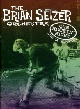 Brian Setzer Orchestra One Rockin' Night DVD