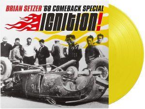 Brian Setzer '68 Comeback Special Ignition! LP(YellowVinyl)