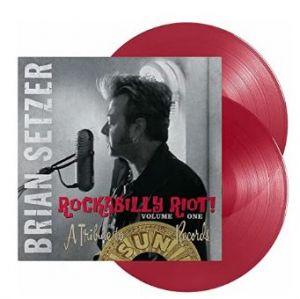 Brian Setzer Rockabilly Riot A Tribute To Sun Records 2LP