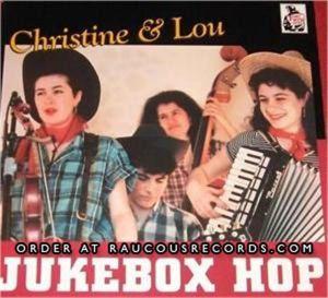 "Christine & Lou Jukebox Hop 7"" Vinyl EP"