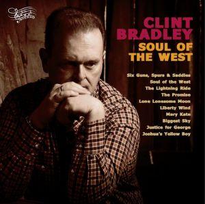 Clint Bradley Soul of the West LP vinyl