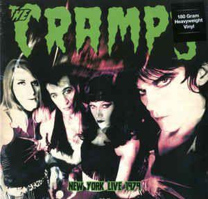 Cramps New York Live 1979 vinyl LP