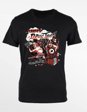 Cramps Drug Train T-Shirt