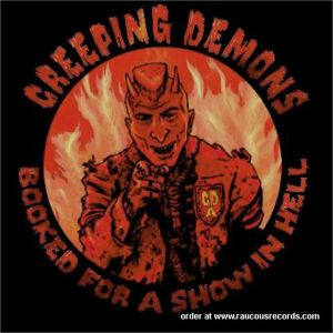 Creeping Demons Booked For A Show In Hell CD psychobilly cds at Raucous Records