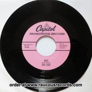 "Cues Why Killer Diller 7"" Vinyl Single"