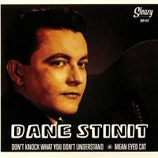 Dane Stinit Don't Knock What You Don't Understand Mean eyed Cat 7 inch vinyl single SR147 2817623619926