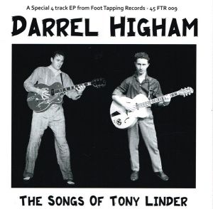 Darrel Higham Songs Of Tony Linder vinyl EP