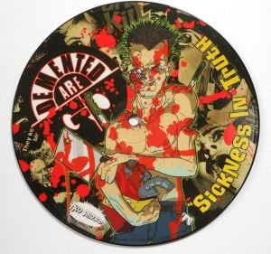 Demented Are Go Deadbolt picture disc