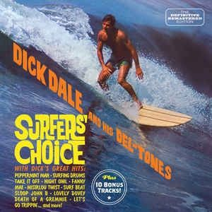 Dick Dale and his Del-Tones Surfers' Choice Plus CD 8436542014403