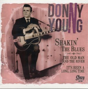 Donny Young Shakin' The Blues 7 inch vinyl ep SR153 5321459681721
