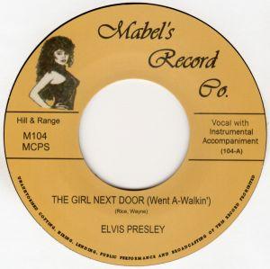 """The Girl Next Door Went A-Walkin' 7"""" Single (vinyl)"""