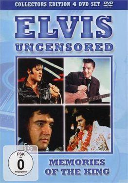 Elvis Presley Uncensored DVD set