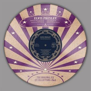 "Elvis Presley Original US EP Collection Volume 6 10"" LP picture disc vinyl"