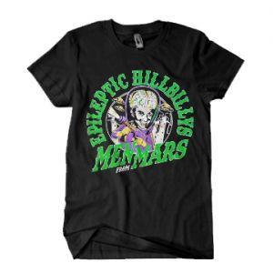 Epileptic Hillbillys Men From Mars T-Shirt