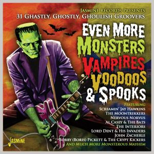 Even More Monsters Vampires Voodoos and Spooks CD