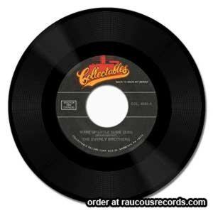 "Wake Up Little Susie 7"" single (vinyl)"