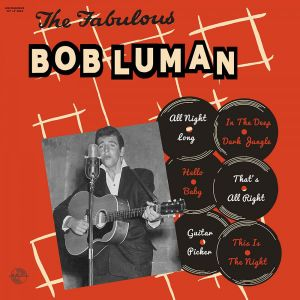 "Fabulous Bob Luman 10"" LP (vinyl)"
