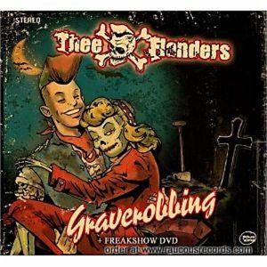 Thee Flanders Graverobbing Freakshow CD DVD