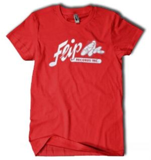 Flip Records Red T-Shirt