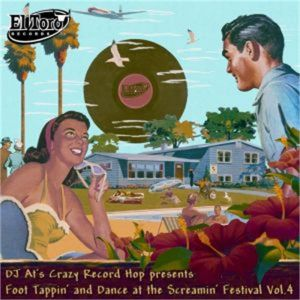 Foot Tappin' and Dance At The Screamin' Festival Volume 4 CD