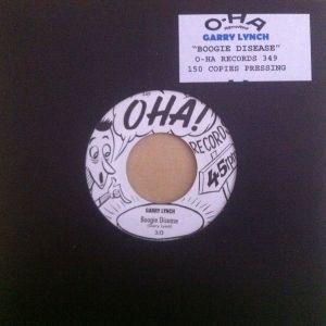 "Garry Lynch Boogie Disease 7"" vinyl single"
