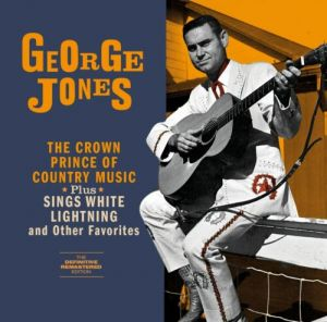Crown Prince of Country Music + Sings White Lightning CD