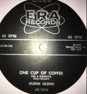 "One Cup Of Coffee 7"" Single (vinyl)"