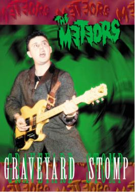The Meteors Graveyard Stomp VHS Video Cassette