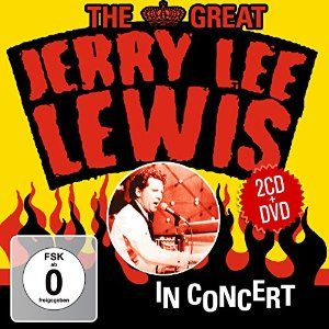 Jerry Lee Lewis The Great In Concert 2CD DVD