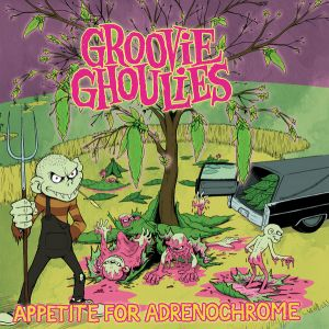 Groovie Ghoulies Appetite For Adrenochrome CD at Raucous Records