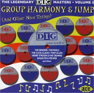 Group Harmony and Jump Legendary Dig Masters Volume 5 CD