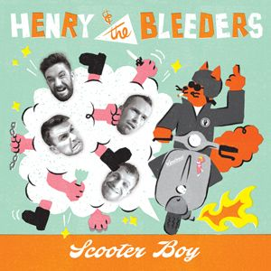 "Henry and the Bleeders Scooter Boy 7"" vinyl EP"