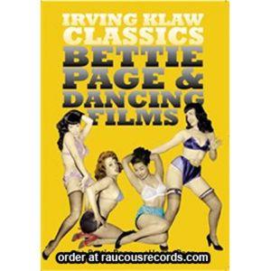 Bettie Page & Dancing Films DVD