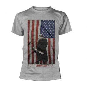 Johnny Cash American Flag T-Shirt