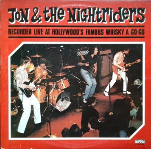 Jon and the Nightriders Live At The Whisky A Go-Go CD