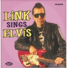 """Link Wray Sings Elvis 10"""" LP vinyl"""