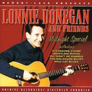 5034504292123 Lonnie Donegan and Friends Midnight Special CD