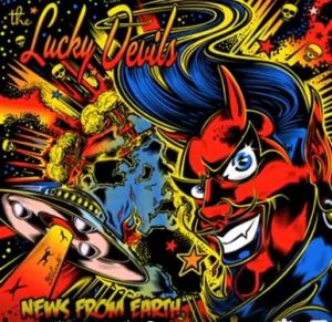 Lucky Devils News From Earth CD