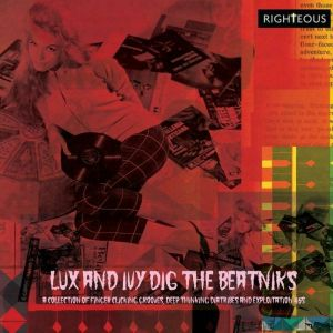 Various Artists Lux And Ivy Dig The Beatniks 2CD 5013929989627 PSALM2396D
