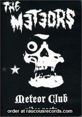 The Meteors Meteor Club Video Nasty DVD