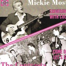 Mickie Most Shivering With Cold The Contrasts Come On Let's Go vinyl single