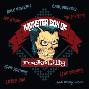 Monster Box Of Rockabilly 12CD box set BLUED182 0805772018228