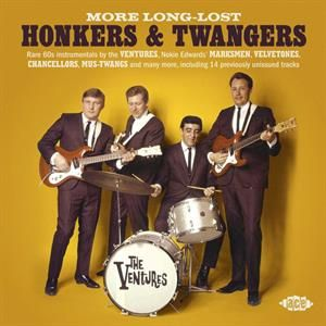 Long Lost Honkers and Twangers CD
