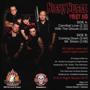 "Night Nurse First Aid 7"" EP"