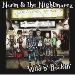 "Norm and The Nightmarez Wild and Rockin' 7"" EP coloured vinyl"