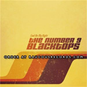 Number 9 Blacktops Cool On My Right CD